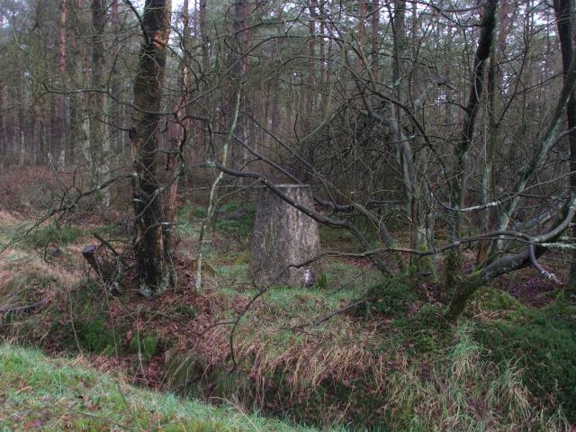 Leaf Howe Trig Pillar.