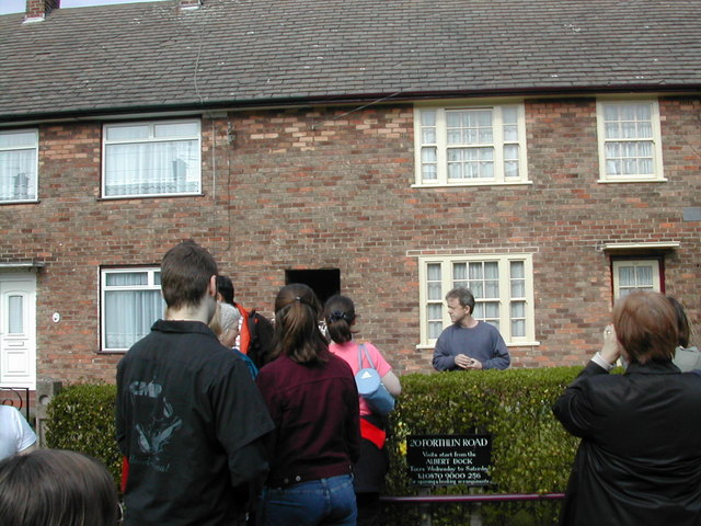 Teenage home of Paul McCartney