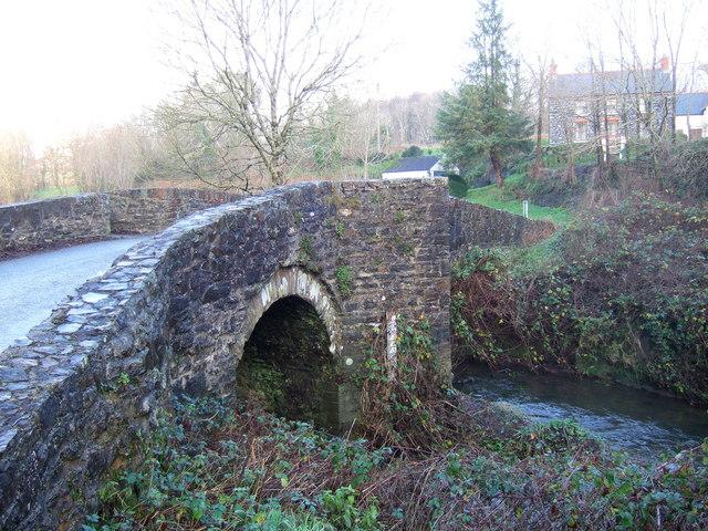 Cuttybridge near Camrose