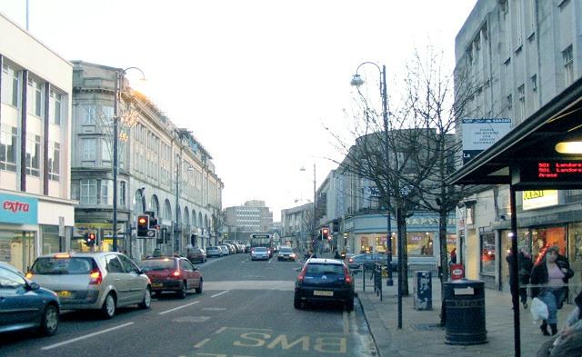 Castle Street, Swansea (Recreated)