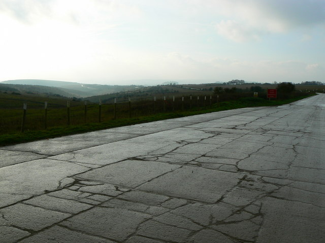 The road from Imber