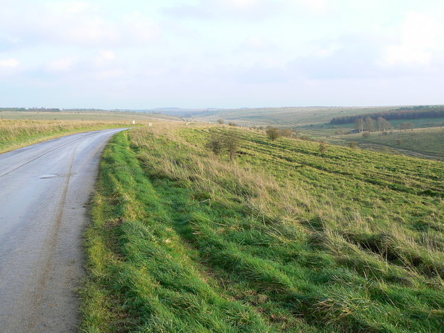 The road to Imber