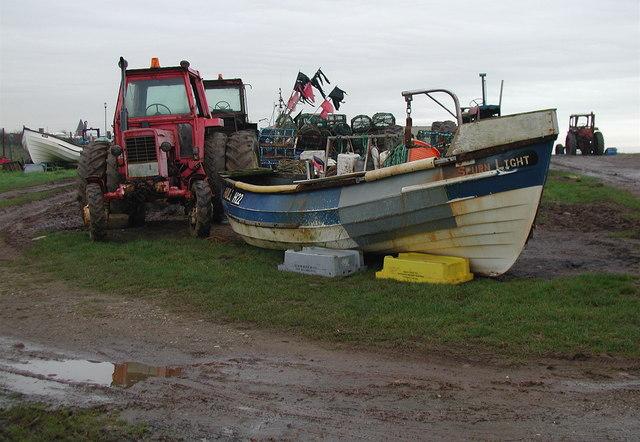 Tunstall Boat Compound