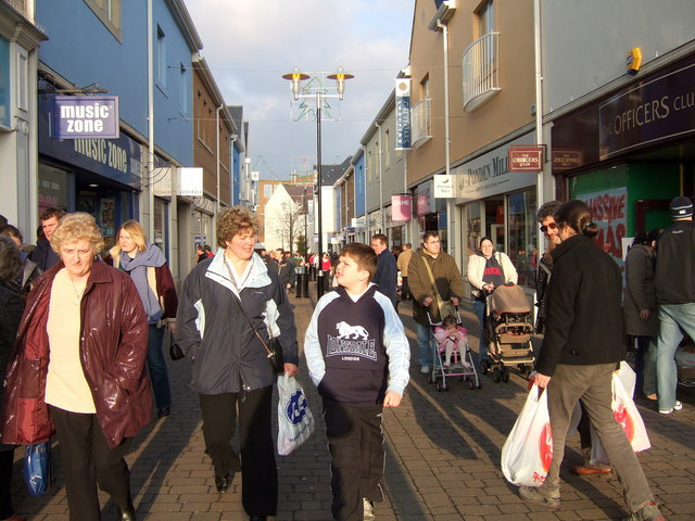 The winter sales, Caerfyrddin/Carmarthen