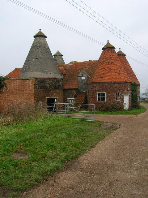 Oasthouses, Bosney Farm