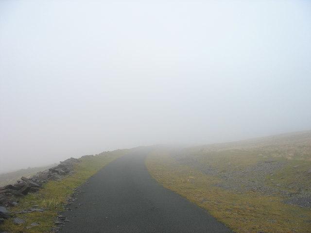 First Hydro road between Parc Mawr and Gwastad Ffynnon-deg