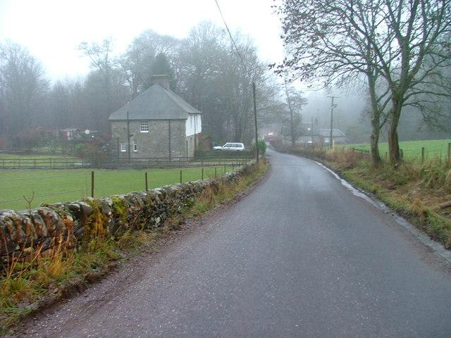 Houses at Edradynate