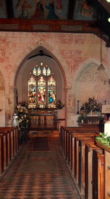 Steventon Church Interior