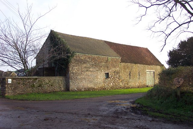 Ancient barn at The Innage