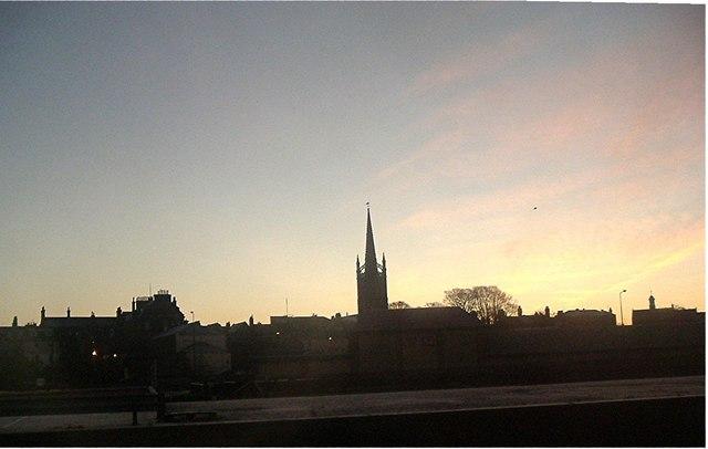 Montrose church spire