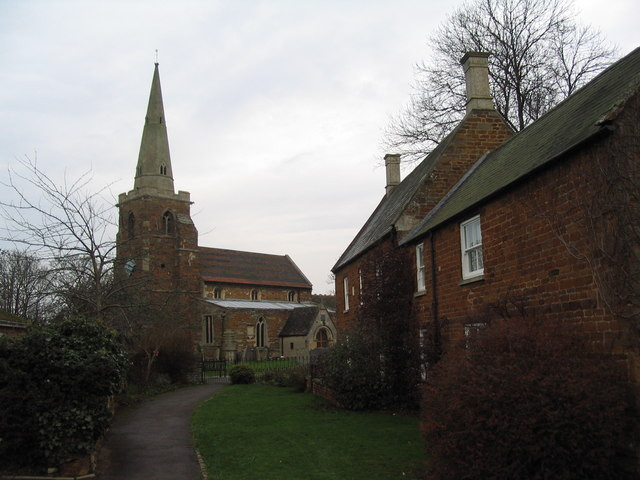 Church Close, Caldecott