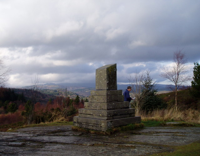 Monument near Llyn Elsi