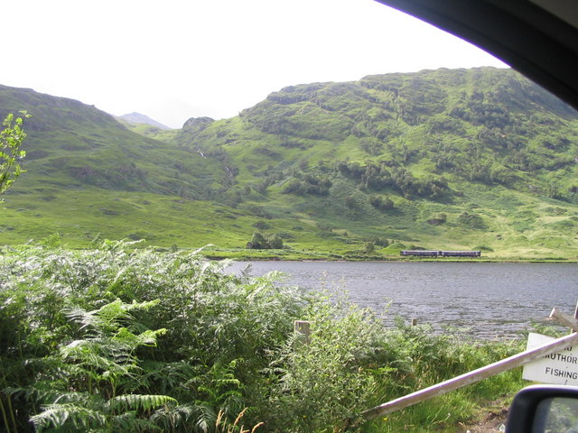Essan, Loch Eilt and the train