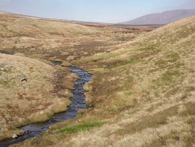 Headwater stream above Coire Garbhlach