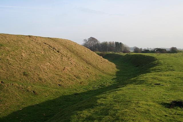 Inner Ditch, Bredon Hill Fort