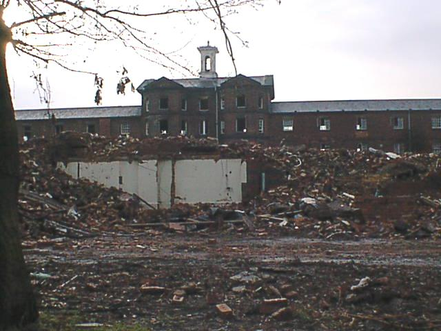 Scarsdale Hospital Demolition