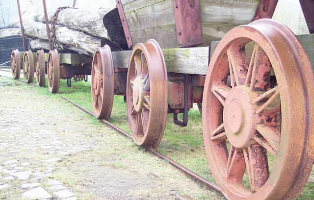 Wheels at Morwellham Quay