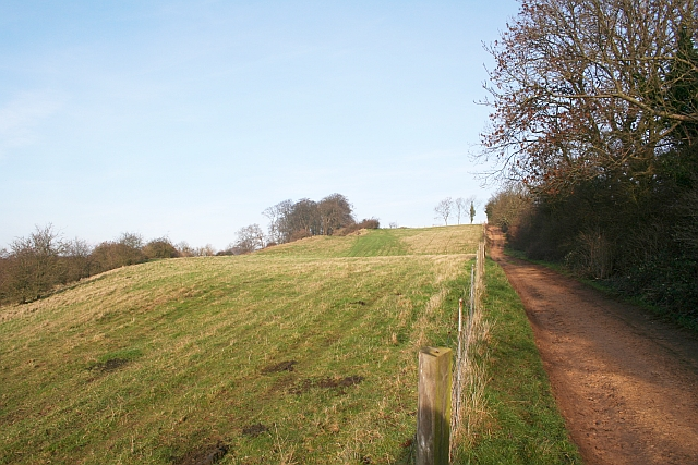 Track up Bredon Hill
