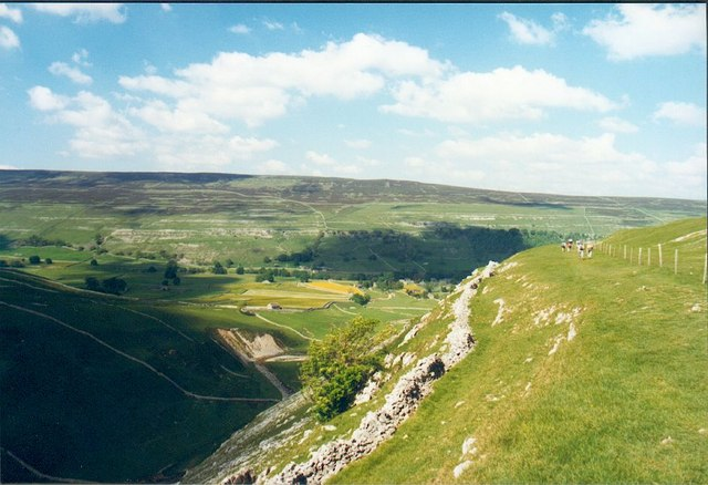 The Monks Trod path near Arncliffe