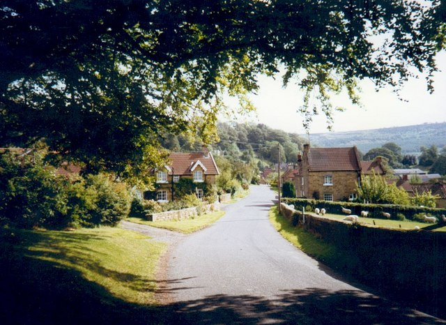 Boltby village west end