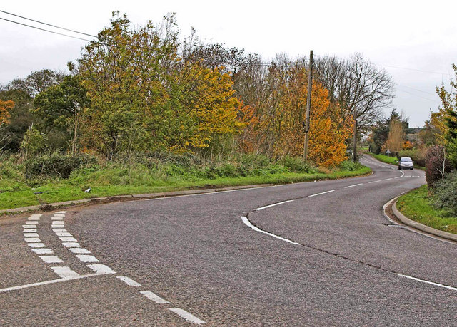 A507 at Cumberlow Green