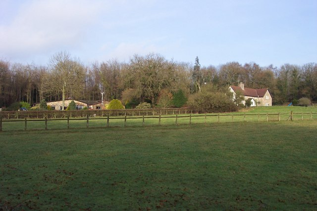 Houses backed by Fryth Wood