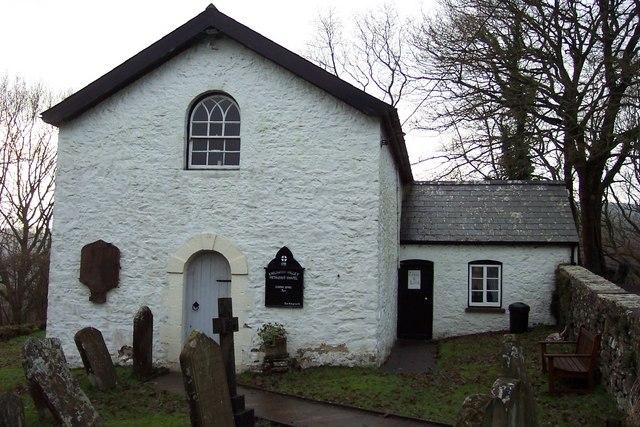 Tiny isolated Methodist chapel