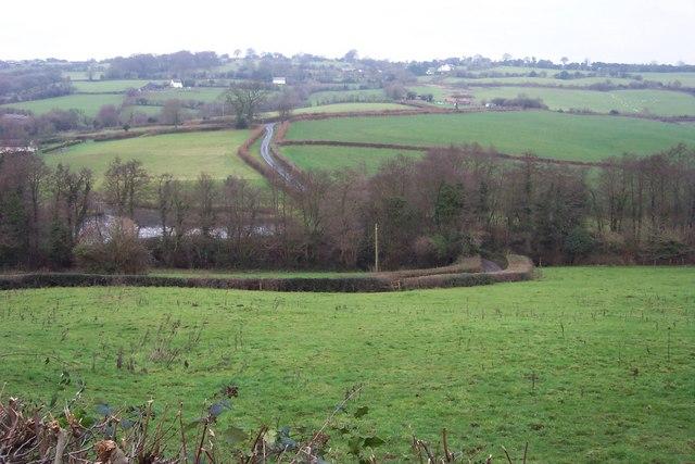 Bullyhole Bottom valley