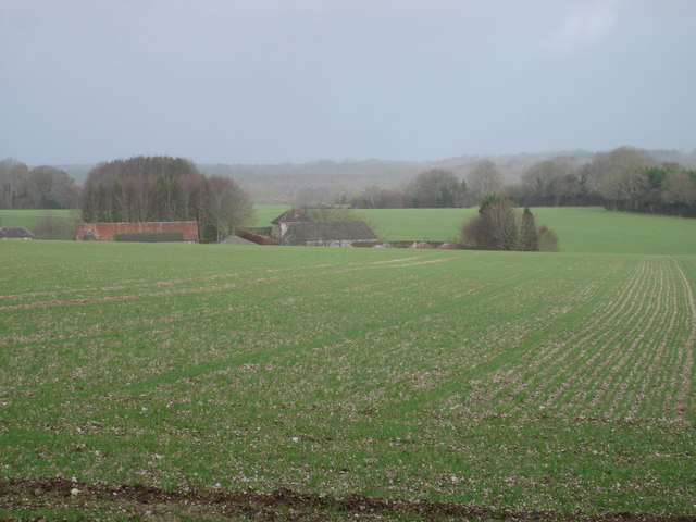 Farmland opposite Westbury Farm