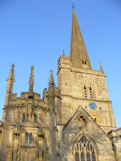 Spire and Facades, Burford
