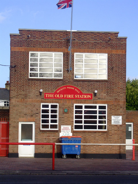 Hockley Parish Hall: The Old Fire Station