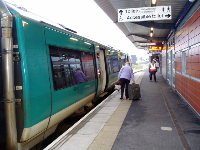 Platform 7, Nuneaton station