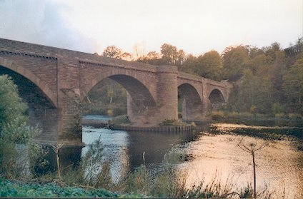 Ladykirk & Norham Border Bridge