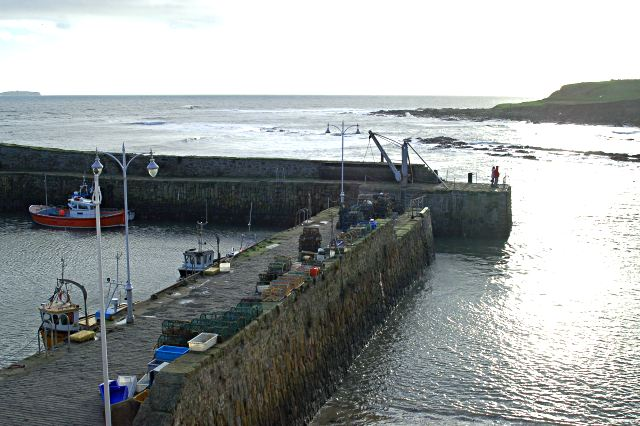 Harbour entrance,  Crail