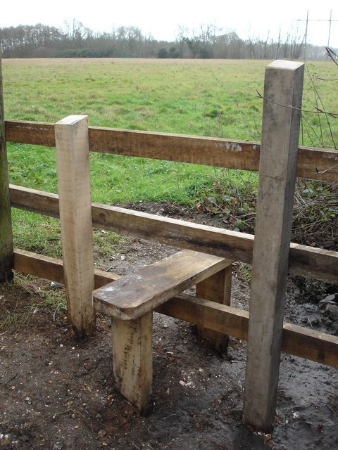 Stile by Boyne's Lane