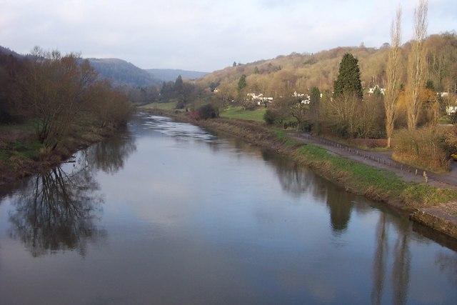 River Wye from Brockweir Bridge
