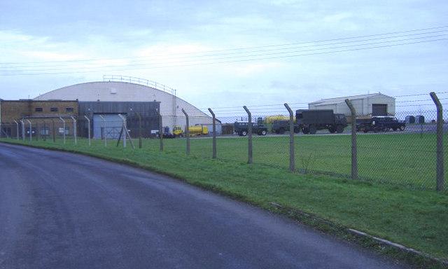 Hangar at RAF Lyneham