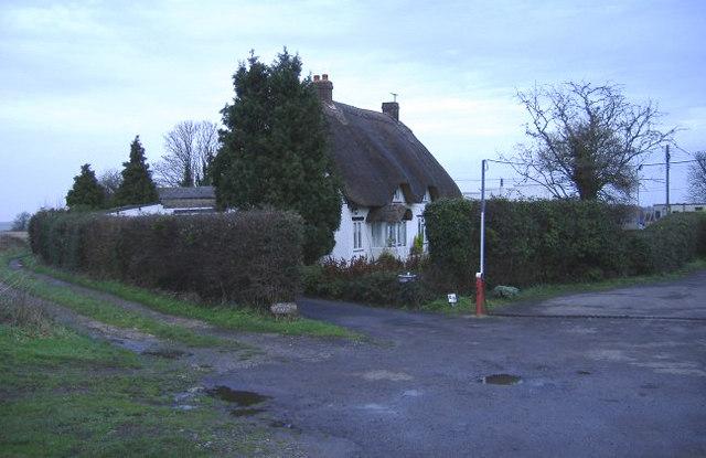 Thatched cottage at Lyneham