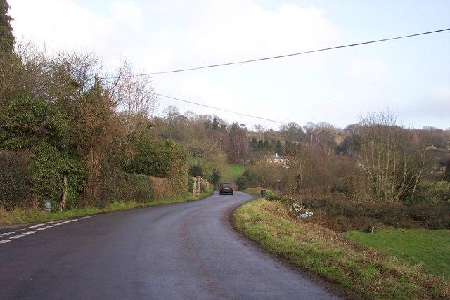 Lane near Grove Farm