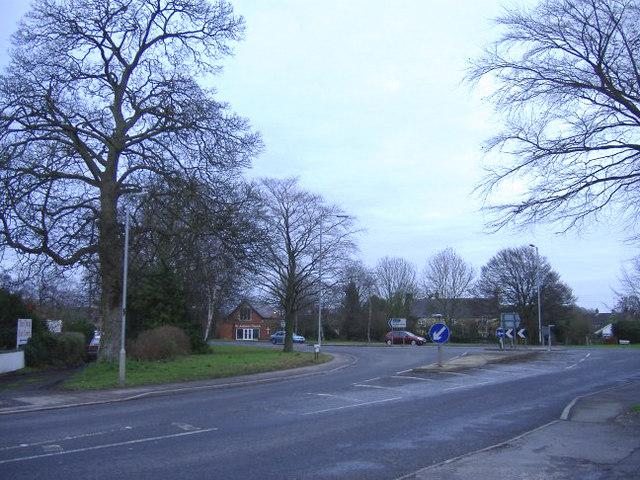 Roundabout at Lyneham
