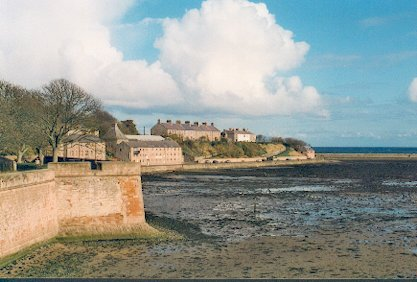Fisher's Fort at Low Tide from Coxon's Tower