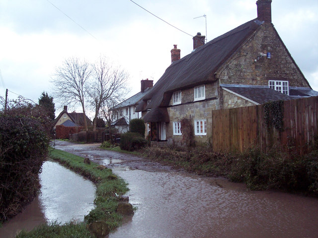 Flooding at Stoke Farthing