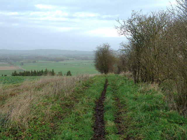 Bridleway into Vale of Pewsey