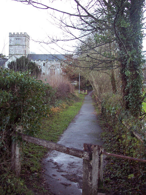 Footpath to Village Hall