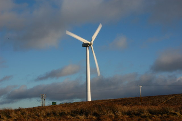 wind turbines ireland. D1022 : Corkey wind farm near