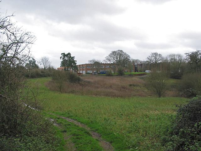 Roke Manor seen from footpath