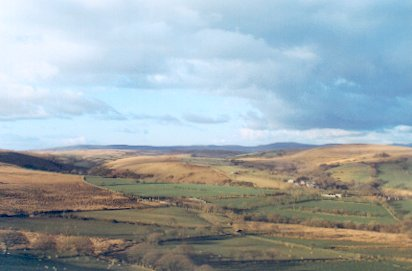 Upper Clydach valley