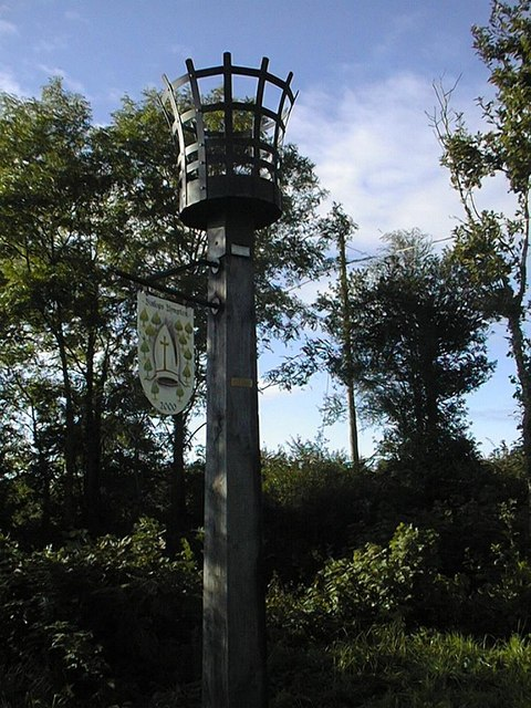 Beacon at Silcombe Cross