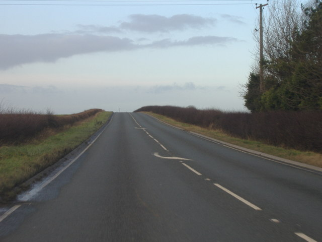 A165 at High Huntow
