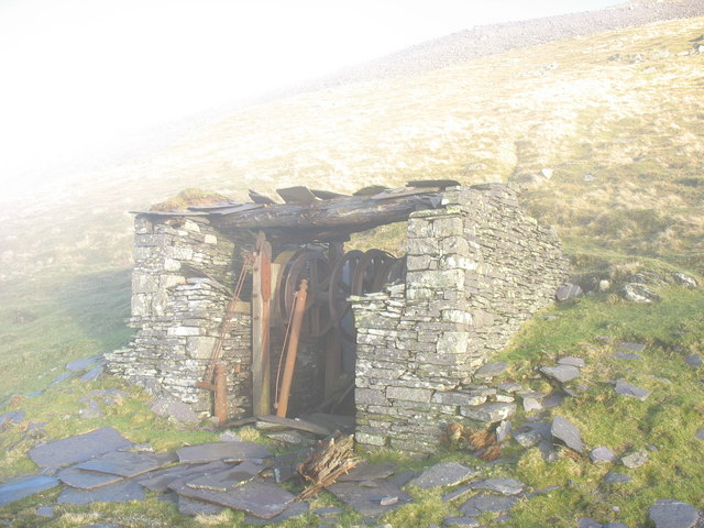 A9 Drum House on Ponc Llangristiolus